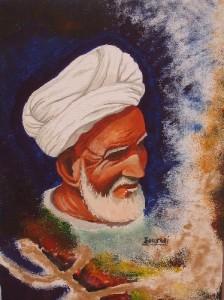 portrait amazighman Bouskri 224x300 Amazigh man : un portrait riche