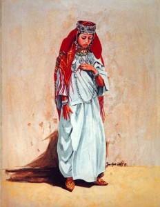 Tenue traditionnelle amazigh 232x300 Amazigh coustumes : vétement traditionnel