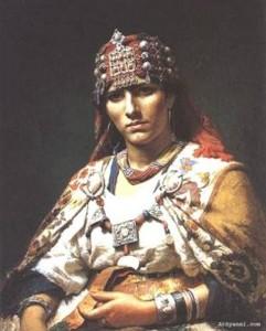 Tenue traditionnelle amazighe 241x300 Amazigh coustumes : vétement traditionnel