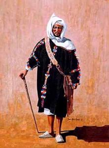 Tenue traditionnelle berbere ancien 221x300 Amazigh coustumes : vétement traditionnel