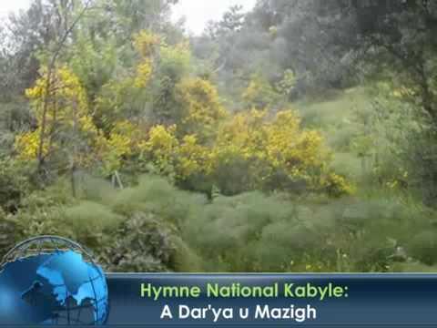 Hymne National Kabyle traduit en français