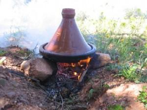 Amazigh recette : le  tajine de foie aux œufs du Maroc