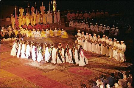 Ahidous : une tradition musicale amazigh  des Ait atta