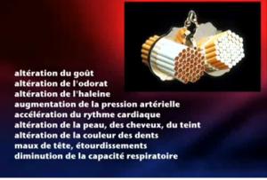 Effets du tabagisme: chaque cigarette vous détruit