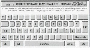 clavier tifinagh