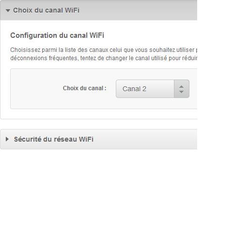 choix du canal wifi