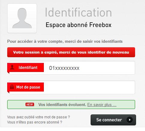 freebox reseau wifi