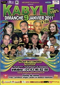 YENNAYER 2011 : 100% KABYLE  A PARIS