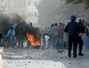 Emeutes à Béjaïa, Ain Defla et Bouira ça continue … [Vidéo]