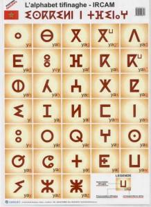 Tifinagh :  L'écriture ancienne des amazighs