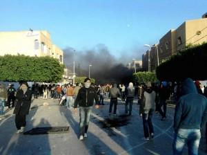 Amazigh :  Les émeutes en Tunisie continuent : Sidi Bouzid