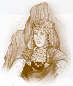 Amazigh histoire:  la reine berbère Kahina