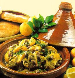 Amazigh recette : tagine marocain