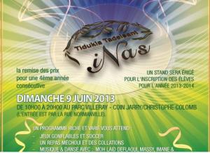 Amazigh Montréal : l'école de tamazight INAS : Fête de fin d'année scolaire le 9 juin
