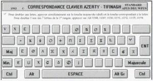 Clavier Tifinagh en ligne –
